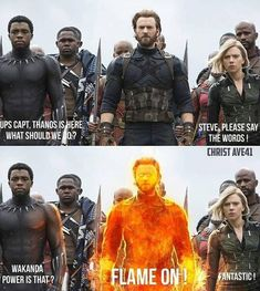 Pls bring killmonger too.He is another human torch