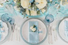 Gorgeous blue wedding inspiration | ElegantWedding.ca