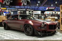 Dutchboys Hotrods built this incredible '71 Camaro that was on display in the Holley booth, at the 2015 SEMA Show. It's powered by a 700HP Livernois LS7 and rides on Detroit Speed suspension, JRi Shocks, Baer Brakes, and BFGoodrich Rival S tires on Forgeline GA3C Concave wheels finished with Matte Bronze centers and Satin Black outers. See more at: http://www.forgeline.com/customer_gallery_view.php?cvk=1506  #Forgeline #GA3C #notjustanotherprettywheel #madeinUSA #Chevy #Camaro…