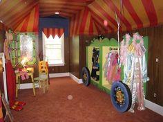 Circus Playroom traditional kids