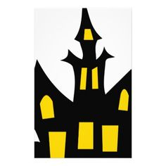 Haunted House Stationery - Halloween happyhalloween festival party holiday