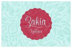 Zakia Typeface on Typography Served