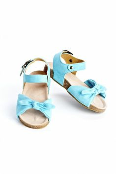 Aqua Sandals from Little Skye Children's Boutique