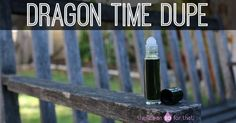 Today we're going to learn how to make a Dragon Time essential oil dupe. This blend is effective for easing PMS, balancing hormones, and relieving pain!