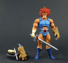 Mattel Unveils All New Lion-O Figure For A Thundercats Classics Line Compatible With MOTUC!