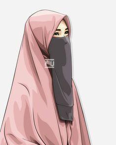 Keterangan foto tidak tersedia. Muslim Girls, Muslim Couples, Muslim Women, Outfit Essentials, Hijabi Girl, Girl Hijab, Girl Wallpaper, Cartoon Wallpaper, Hijab Anime