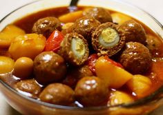 Recipes Ball Ball Meat stews contents Quail Eggs From Indonesia Meat Loaf Recipe Easy, Easy Meat Recipes, Steak Recipes, Baby Food Recipes, Asian Recipes, Easy Meals, Cooking Recipes, Rice Recipes, Yummy Recipes