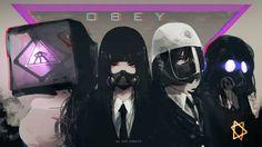 OBEY by AoiOgataArtist on DeviantArt