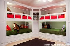 Good health  Bunk bed room helps to equip the first sports equipment: a Swedish mini-wall, rope climbing, a short horizontal bar or slide — this seemingly small and inconspicuous corner of the young athlete over the years will make the child a much stronger and stronger.