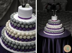 Wedding Cake Pops   Lottie and Lil Blog » Cake Pop Wedding Cake