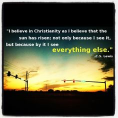 Christianity quote .. My favorite one!