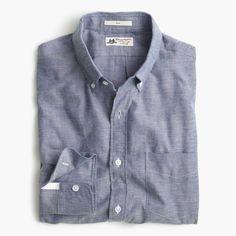 Slim Thomas Mason® for J.Crew shirt in brushed oxford ($148)