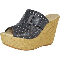 online shopping for Bruno Menegatti 9002 Women's Leather Wedge Sandal from top store. See new offer for Bruno Menegatti 9002 Women's Leather Wedge Sandal Black Platform Wedges, Platform Wedge Sandals, Leather Wedge Sandals, Leather Wedges, Women's Shoes Sandals, Wedge Shoes, Top Shoes, Open Toe Shoes, Evening Shoes
