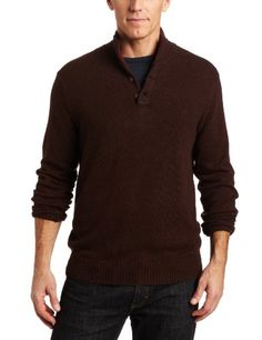 Perry Ellis Men's Long Sleeve Button Up Sweater $36.44 - $62.55