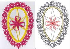 Bobbin Lace Patterns, Lace Heart, Lace Jewelry, Lace Detail, Creations, Butterfly, Easter, Inspiration, Easter Eggs