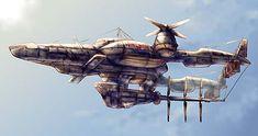 FFVII Airship - Highwind