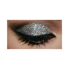 Glitter eyeshadow? ❤ liked on Polyvore featuring makeup, eyes, pictures, beauty and eye makeup