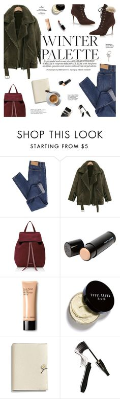 """""""Winter palette"""" by honestlyjovana ❤ liked on Polyvore featuring Cheap Monday, Manolo Blahnik, Whiteley, Mansur Gavriel, Beauty Is Life, Bobbi Brown Cosmetics, Haute Hippie, Coach, Lancôme and Paul Smith"""