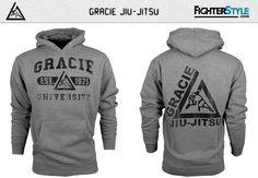 Gracie Jiu-Jitsu Gracie University Hoodie at http://www.fighterstyle.com/gracie-hoodie-jiu-jitsu-gracie-university/