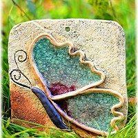 Keramika / Zboží | Fler.cz Clay Wall Art, Ceramic Wall Art, Ceramic Clay, Clay Art, Hand Built Pottery, Slab Pottery, Ceramic Pottery, Pottery Art, Pottery Animals
