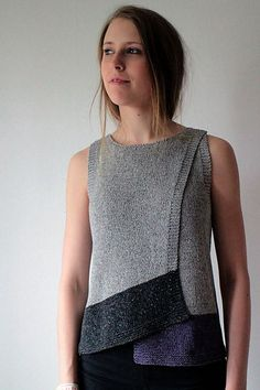 Marita Rolin | Maja - Kiito pattern on Ravelry, interesting hemlines