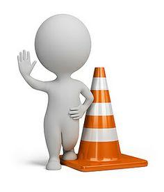 3d small people - traffic cone | Flickr: Intercambio de fotos