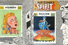 The Spirit Magazine 25 Cover - Will Eisner