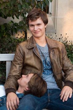Ansel Elgort Leather Jacket at Reasonable Price from The Hollywood Movie The Fault in Our Stars Jacket for Sale role as Augustus Waters Buy Online Now. Hazel Y Augustus, Augustus Waters, Vampire Academy, Series Quotes, Fault In The Stars, Hazel Grace Lancaster, John Green Books, Ansel Elgort, Tfios