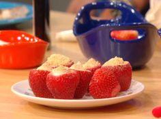 Jorge Cruise's Strawberry Cheesecake Bites