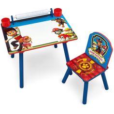 Nick Jr. PAW Patrol Art Desk with Dry-Erase Tabletop by Delta Children