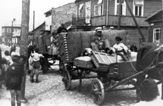 Kovno, Lithuania, Deportation from the small ghetto, September 1943.