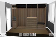 IKEA PAX planner | Dressing Room