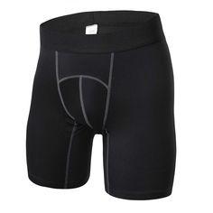 7cd422b7f2 Men Compression Sports Short Pants Tights Base Layer Running Fitness Shorts  Men's Shorts, Sport Shorts