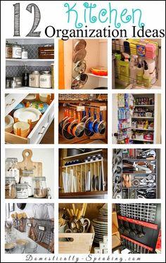12 Kitchen Organization Ideas