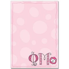 Phi Mu Sorority Notepad $4.95