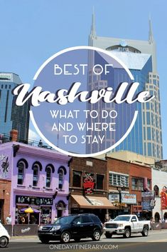 Best Nashville Hotels, Nashville Things To Do, Nashville Attractions, Nashville Downtown, Nashville Vacation, Visit Nashville, Tennessee Vacation, Nashville Music, Vacation Rentals