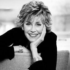 Jane Fonda #loreal #beauty #beleza #portrait