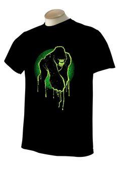 """Bleeding"" Ape Logo T-Shirt (Black)"