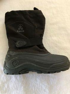 a7544bb85c3 Kamik Big Kids Size 2 Snow Winter Boots Black Boys Girls  fashion  clothing   shoes  accessories  kidsclothingshoesaccs  unisexshoes (ebay link)