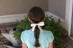 double twist ponytail. so easy. mock fishtail braid.  i've check this blog periodically and love it.