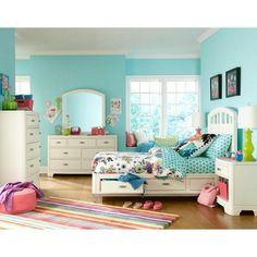 LC Kids Park City Panel Customizable Bedroom Set