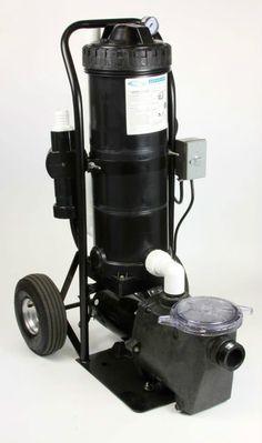Scamp Portable Inground Swimming Pool Pump Cartridge Filter Vacuum System Pool Pinterest