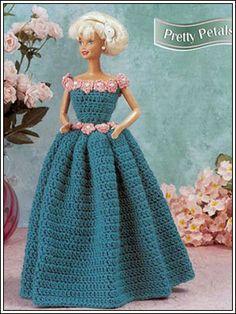 Barbie Crochet: Pretty Petals, pattern