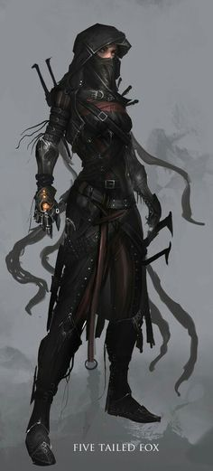 Awesome fantasy character