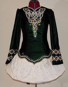 Irish dance solo dress....throwing it back to those dancing days...