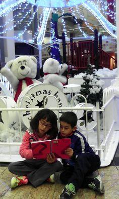 ¡Qué bonita foto! Leyendo con adornos navideños (Nº 16)
