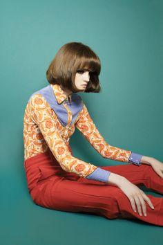 """Summer Blues"" Hunger TV Fashion Editorials"
