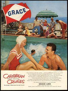 Grace Lines - 1957 ad