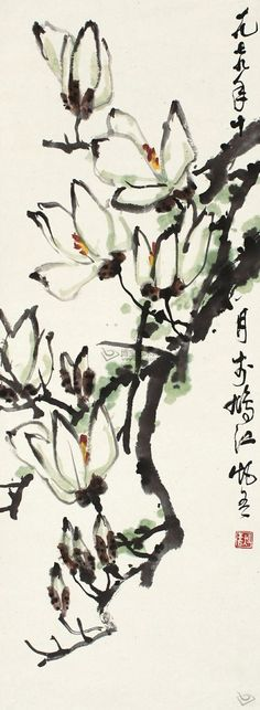 Beautiful Chinese painting that would be awesome to but and learn how to make.