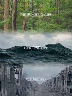 The Hunger Games. Catching Fire. Mockingjay.
